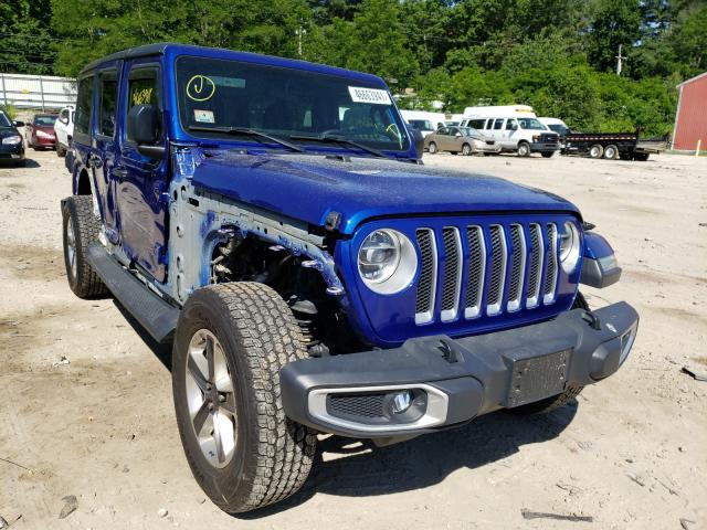Salvage cars for sale from Copart Mendon, MA: 2018 Jeep Wrangler U