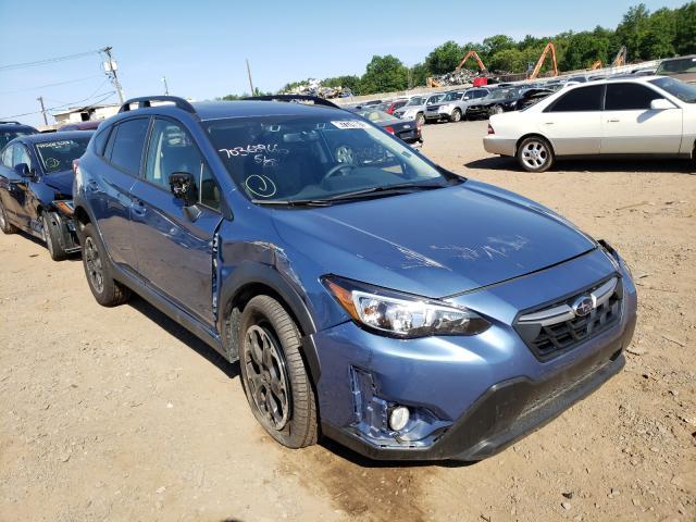 Salvage cars for sale from Copart Hillsborough, NJ: 2021 Subaru Crosstrek