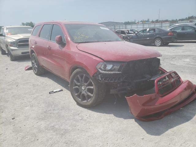Salvage cars for sale from Copart Alorton, IL: 2017 Dodge Durango R