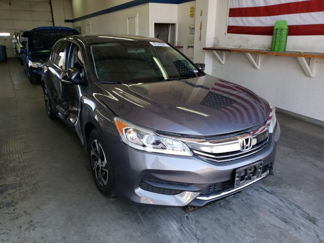 Salvage cars for sale from Copart Pasco, WA: 2016 Honda Accord LX