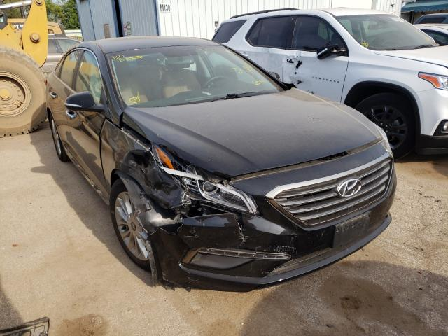 Salvage cars for sale from Copart Pekin, IL: 2015 Hyundai Sonata Sport