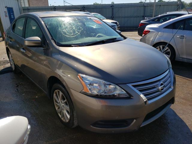 Salvage cars for sale from Copart Montgomery, AL: 2015 Nissan Sentra S