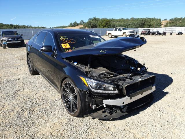 Salvage cars for sale from Copart Anderson, CA: 2016 Hyundai Genesis 3