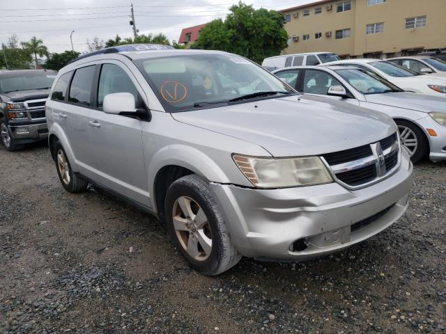 Salvage cars for sale from Copart Opa Locka, FL: 2010 Dodge Journey SX