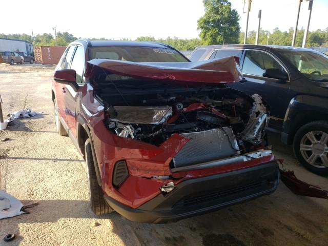 Toyota salvage cars for sale: 2021 Toyota Rav4 LE