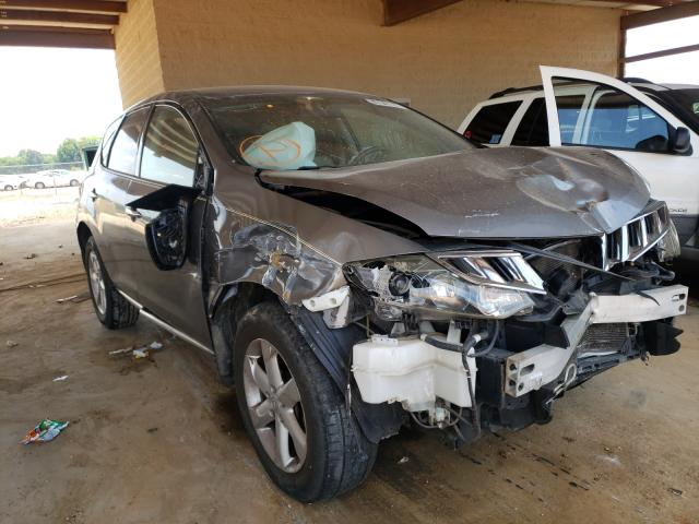 Salvage cars for sale from Copart Tanner, AL: 2009 Nissan Murano S