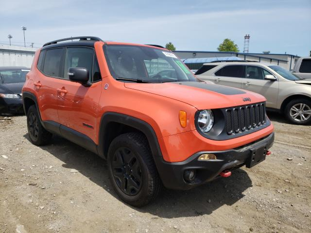Salvage cars for sale from Copart Finksburg, MD: 2018 Jeep Renegade T