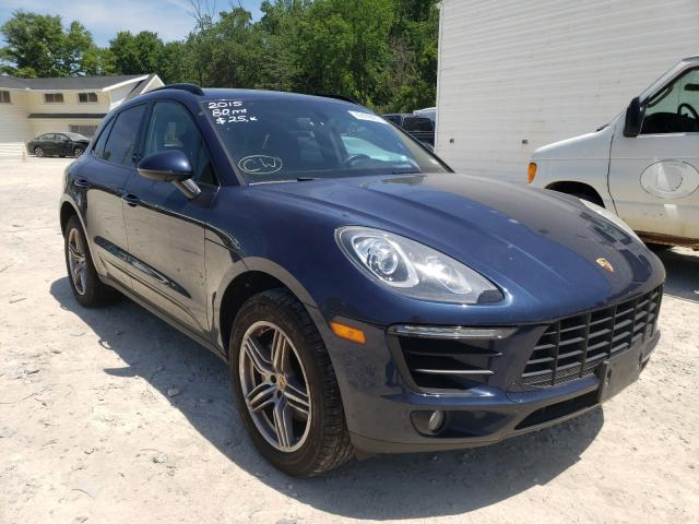 Salvage cars for sale from Copart Northfield, OH: 2015 Porsche Macan S