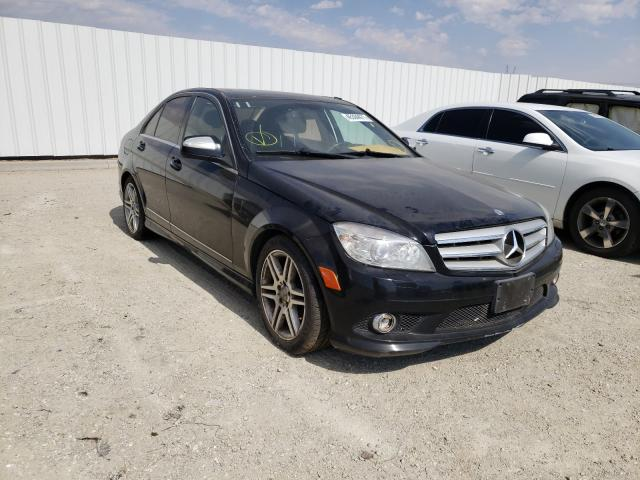 Mercedes-Benz salvage cars for sale: 2009 Mercedes-Benz C 350