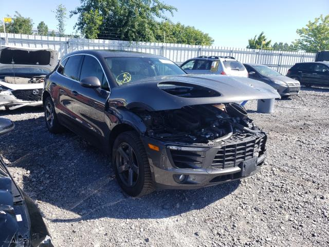 Salvage cars for sale from Copart Ontario Auction, ON: 2018 Porsche Macan S