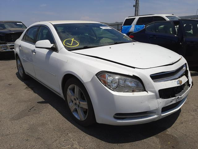Salvage cars for sale from Copart Fresno, CA: 2012 Chevrolet Malibu 1LT