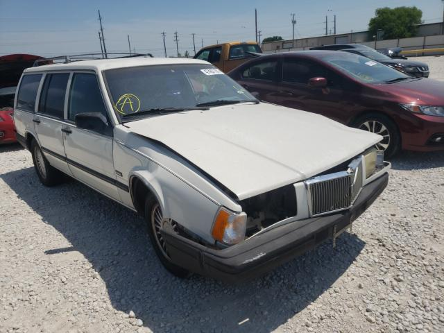 Salvage cars for sale from Copart Haslet, TX: 1993 Volvo 940