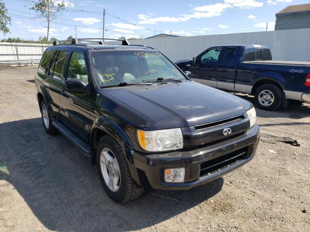 Salvage cars for sale from Copart North Billerica, MA: 2001 Infiniti QX4