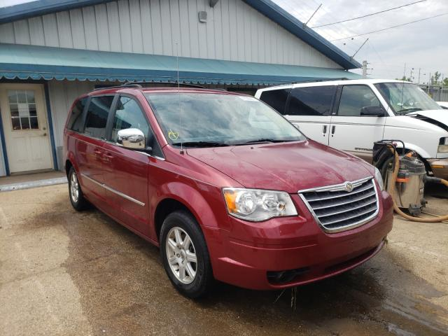 Salvage cars for sale from Copart Pekin, IL: 2010 Chrysler Town & Country