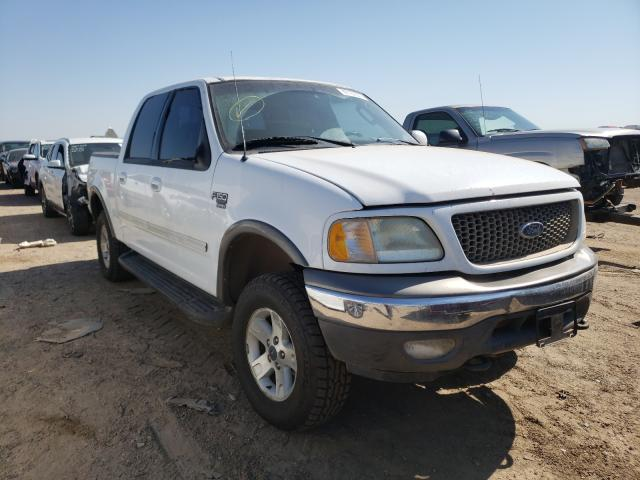 Salvage cars for sale from Copart Amarillo, TX: 2003 Ford F150 Super