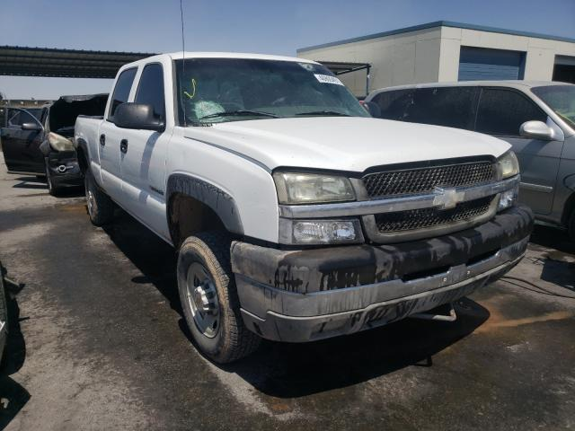 Salvage cars for sale from Copart Anthony, TX: 2003 Chevrolet Silverado