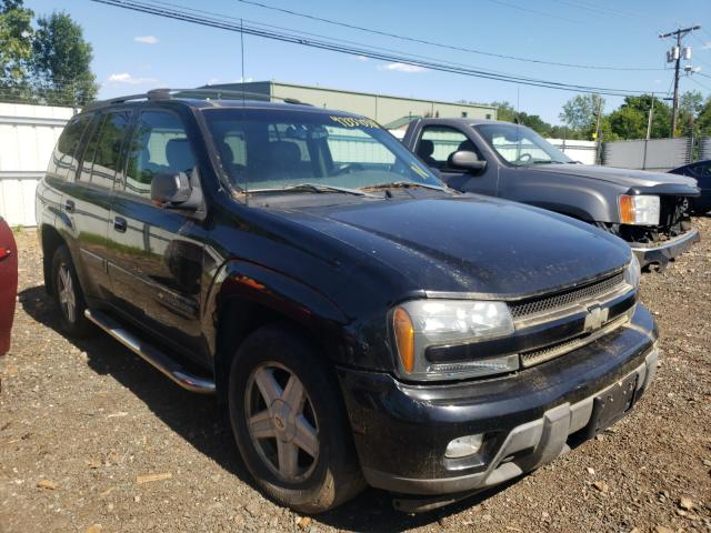 Salvage cars for sale from Copart New Britain, CT: 2002 Chevrolet Trailblazer
