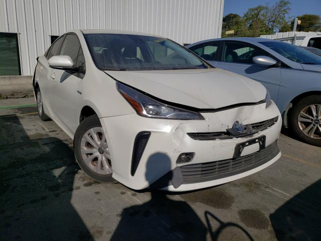 Salvage cars for sale from Copart Vallejo, CA: 2019 Toyota Prius