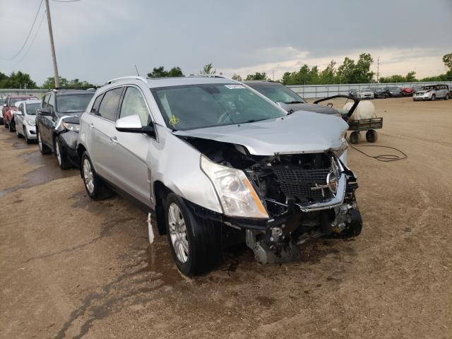 Salvage cars for sale from Copart Pekin, IL: 2010 Cadillac SRX