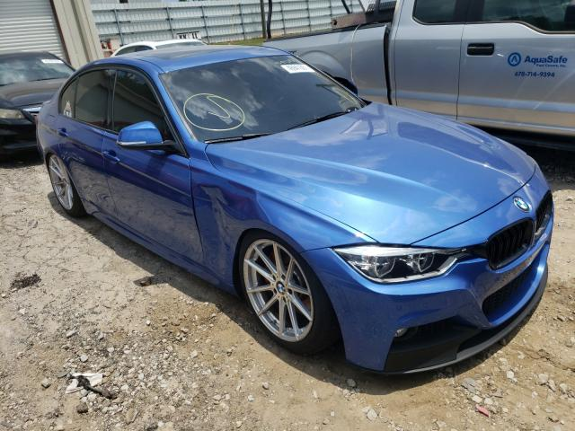 Salvage cars for sale from Copart Gainesville, GA: 2017 BMW 340 I