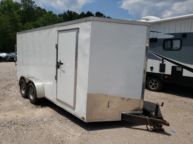 Cargo Trailer salvage cars for sale: 2016 Cargo Trailer
