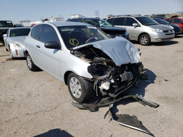Salvage cars for sale from Copart Tucson, AZ: 2009 Hyundai Accent GS