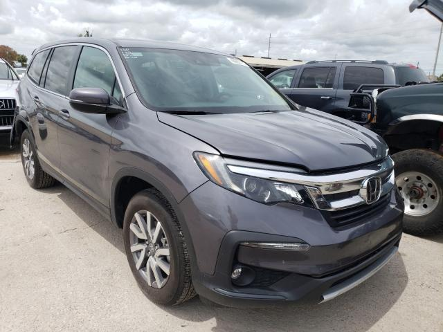Salvage cars for sale from Copart Riverview, FL: 2019 Honda Pilot EX