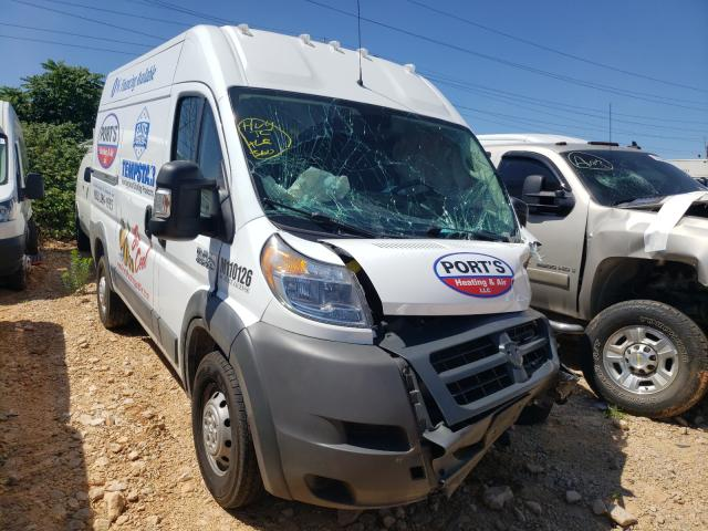 Salvage cars for sale from Copart China Grove, NC: 2018 Dodge RAM Promaster