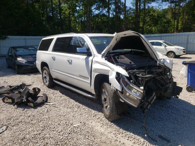 Chevrolet Suburban salvage cars for sale: 2017 Chevrolet Suburban