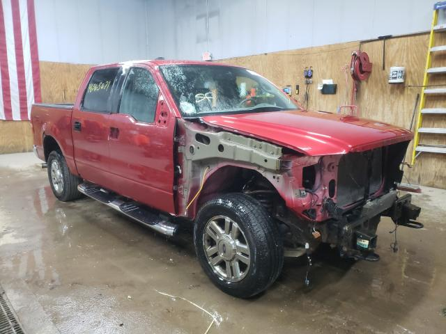 Salvage cars for sale from Copart Kincheloe, MI: 2008 Ford F150 Super