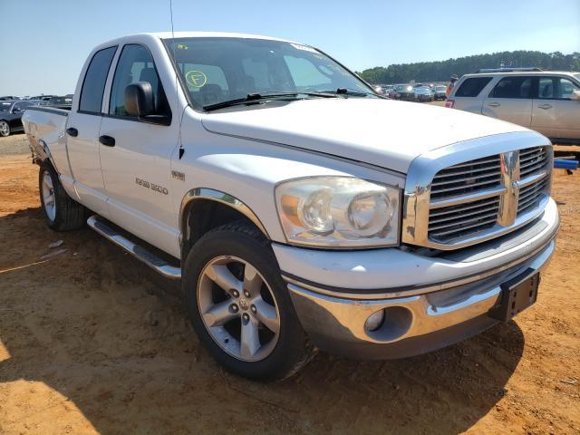 Vehiculos salvage en venta de Copart Longview, TX: 2007 Dodge RAM 1500 S