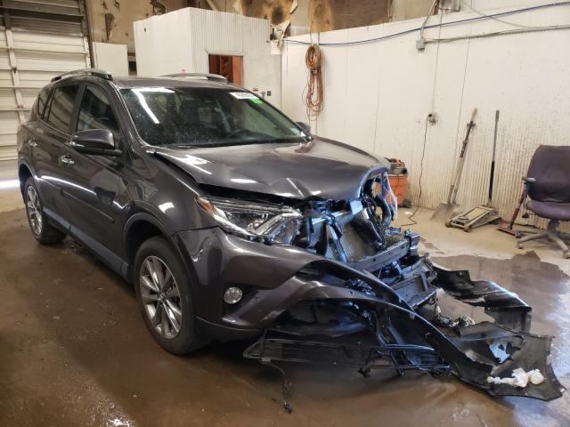 Salvage cars for sale from Copart Casper, WY: 2017 Toyota Rav4 Limited