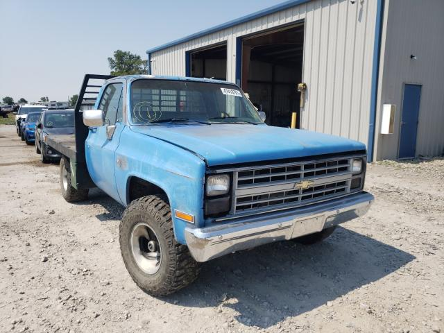 Salvage cars for sale from Copart Sikeston, MO: 1985 Chevrolet K10