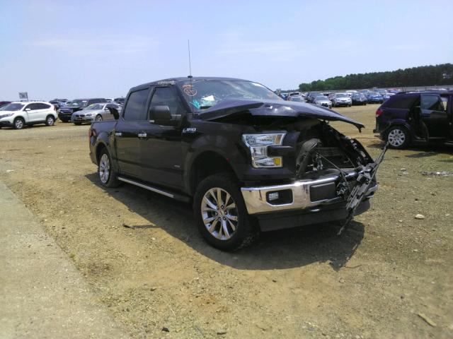 Salvage trucks for sale at Longview, TX auction: 2017 Ford F150 Super