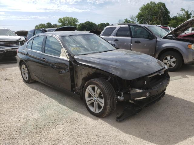 Salvage cars for sale from Copart Milwaukee, WI: 2018 BMW 330 XI