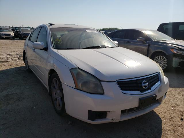 Salvage cars for sale from Copart Temple, TX: 2008 Nissan Maxima SE