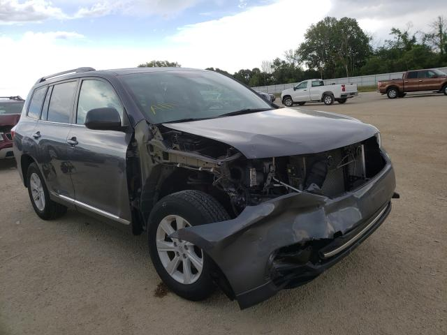 Salvage cars for sale from Copart Milwaukee, WI: 2012 Toyota Highlander
