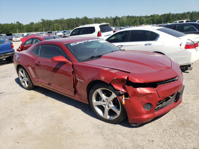 Salvage cars for sale from Copart Harleyville, SC: 2015 Chevrolet Camaro LS