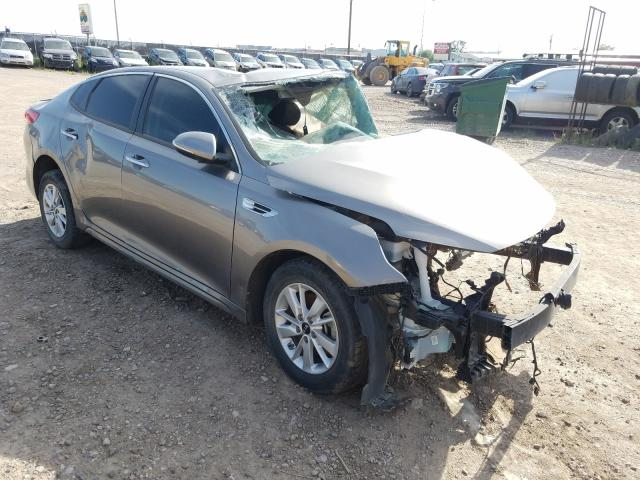 Salvage cars for sale at Billings, MT auction: 2016 KIA Optima LX