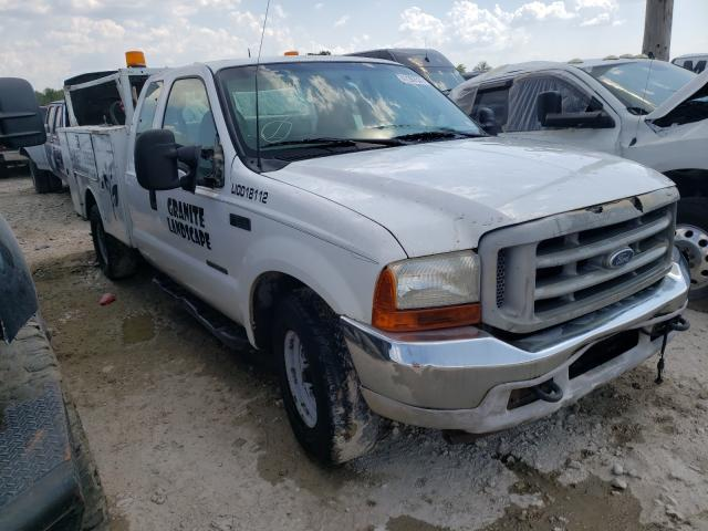 Salvage cars for sale at Grand Prairie, TX auction: 2002 Ford F250 Super