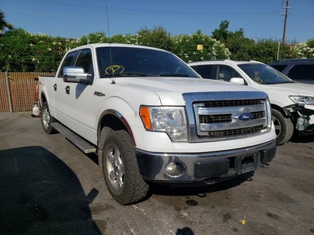 Salvage cars for sale from Copart San Martin, CA: 2013 Ford F150 Super
