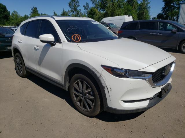 Mazda CX-5 salvage cars for sale: 2018 Mazda CX-5