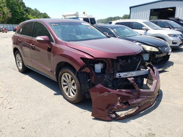Salvage cars for sale from Copart Shreveport, LA: 2016 Acura RDX Techno