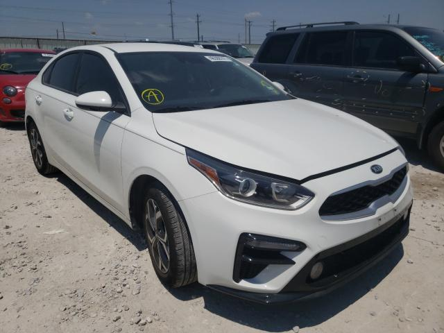 Salvage cars for sale from Copart Haslet, TX: 2019 KIA Forte FE