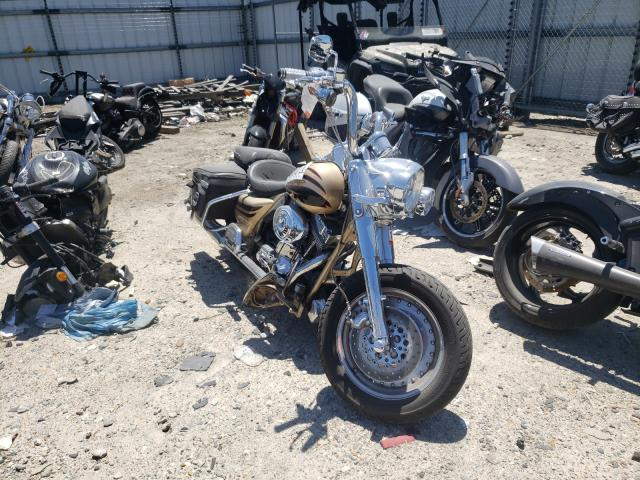 Salvage cars for sale from Copart Hampton, VA: 2003 Harley-Davidson FLHRSEI1