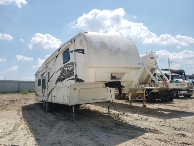 Salvage cars for sale from Copart Temple, TX: 2007 Keystone Travel Trailer
