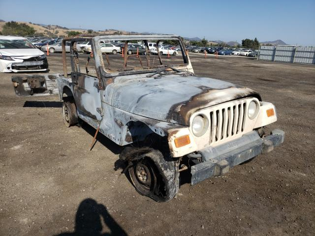 Salvage cars for sale from Copart San Martin, CA: 2001 Jeep Wrangler