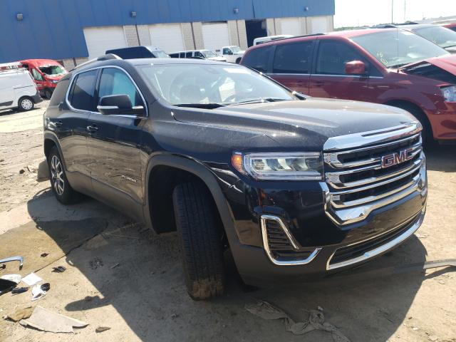 Salvage cars for sale from Copart Woodhaven, MI: 2021 GMC Acadia SLE