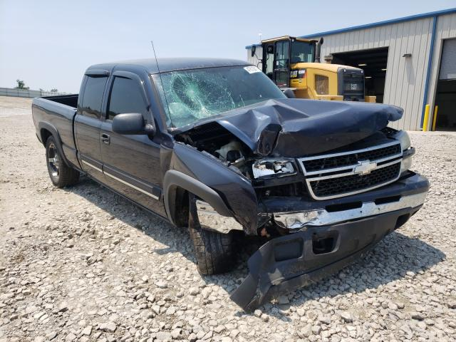 Salvage cars for sale from Copart Louisville, KY: 2007 Chevrolet Silverado