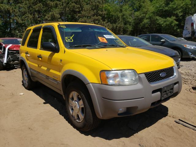 Ford Escape salvage cars for sale: 2002 Ford Escape